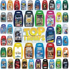 Top Trumps Card Games Disney Paw Patrol Minions Animals Football Stars WWE - ALL