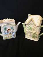 2 Novelty Teapots George And The Dragon