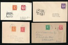 RAILWAY TPO GB KG6 + QE2 + POSTAGE DUE...4 ITEMS