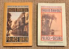 Palace of Desire and Palace Walk by Naguib Mahfouz Signed!!! Rare!!!
