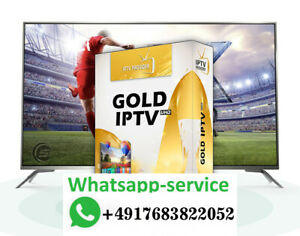 IP TV GOLD 12 Months Premium UHD NO Buffering ✅ Stable all devices new VOD serie