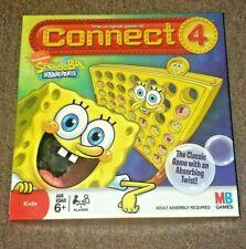Connect 4 Sponge Bob game 2008 Milton Bradley Family Children