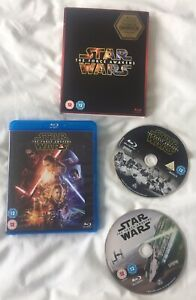 ~ Star Wars ~ The Force Awakens ~ 2 Disc Blu Ray ~ Limited Edition Darkside ~