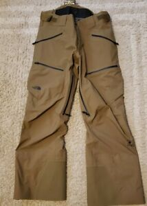 The North Face WOMENS Steep Series GoreTex Purist Pants Large Short Retail $449