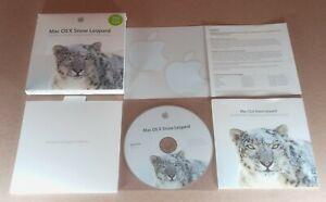 Apple MAC OS X 10.6.3 Snow Leopard  (Version MC573Z/A)  Complete in Box