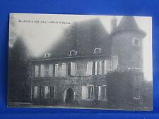 cpa 38 st andre le gaz chateau de verel