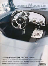 Volkswagen revista 4/03 andy green zaha hadid Phaeno iniciaban roadster concept R