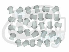 Lot Of 30 Earbuds For Radio Earpiece - Rubber Mushroom Eartip Ear Bud Silicone