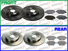 MINTEX FORD MONDEO /& JAGUAR X-TYPE REAR DISCS AND PADS MDK0222