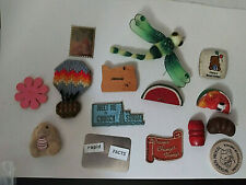 Assortment of Magnets and Odds and Ends Church Prayer Wooden Nickel