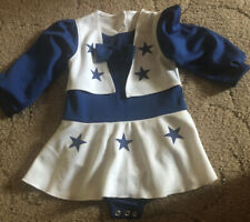 Dallas Cowboy 24 Month Cheerleader Outfit w/ Snaps