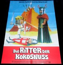 Monty Python and the Holy Grail ORIGINAL German A1 POSTER Terry Gilliam cool art