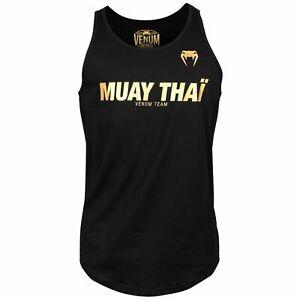 VENUM VT BOXING / MMA / MUAY THAI / JIU JITSU VEST / TANK TOP - VARIOUS COLOURS