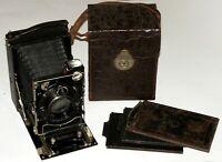 VERY RARE CERTO CERTOTROP 9x12 Folding Camera Schneider Xenar 3.5/15 cm lens