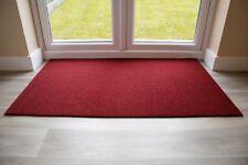 BEST Commercial Brush Entrance Mat Red 100cm x 200cm UK Floor Mat