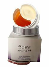 AVON Anew Clinical Infinite Lift Eye Cream Gel Dual Eye System 20ml Genuine