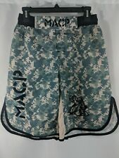 Army Macp Combative Mma Weightlifting Shorts Sz Xxl Digital Camo trunks fighting
