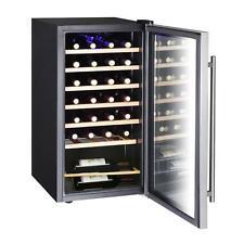 Vissani 28 Bottle 17 Inch Wine Cooler Stainless Steel Door Temp Control New!