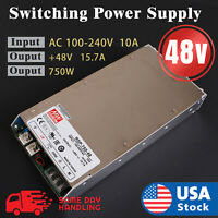 MEAN WELL NEW RSP-750-48 750w 48v S.O. Switching Power Supply