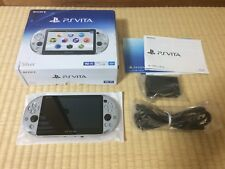 PlayStation PS Vita Wi-Fi PCH-2000ZA25 Silver Japan game region free F/S