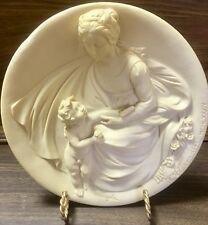Studio Dante Di Volteradici Alberto Santangela Plate Madonna Tenera Italy Ba5451