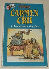 CARMEN CRU : 2 La Dame de fer par LELONG - J'AI LU BD 1988