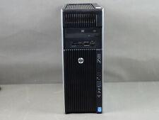 HP Z620 Workstation Xeon 2x E5-2630 2,6GHz 16GB RAM 256 SSD 1TB HDD Quadro K2000