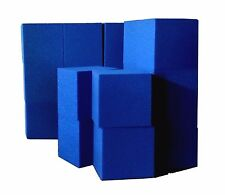 "Foam Pit Cubes/Blocks 250 pcs. (BLUE) 5""x5""x5"" (1536) Flame Retardant Foam"
