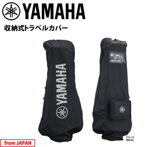 2020 YAMAHA Golf Japan Travel cover Y21TC Black Pocketable type 20wn