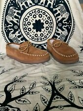 Minnetonka Women's Hardsole Pile-Lined Slipper size 11