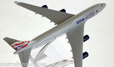 BRITISH AIRWAYS ONE WORLD DIECAST AIRCRAFT PLANE MODEL 15cm 1:400