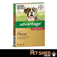 Advantage Red Flea Control Treatment for Large Dogs 10-25kgs Spot On ALL DOSES
