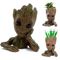 Guardians of The Galaxy Baby Groot Figure Flowerpot Pen Pot Toys Kid Dolls Gift