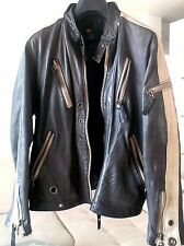 RARE DIESEL  BAIKER LEATHER JACKET SIZE L