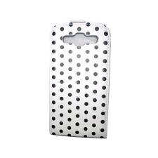 KOLAY Flip Polka Dot Galaxy S3 Case -White and Black