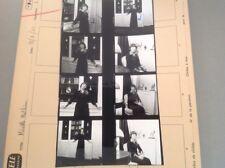 MIREILLE MATHIEU : PLANCHE CONTACT  DE 1974 (8 Photos)