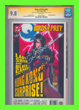 Birds of Prey #62 CGC 9.8 SS Gail Simone Ed Benes 2019 MOVIE