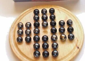 * TRADITIONAL WOODEN GAME 'SOLITAIRE'  For 1 Player RULES INCLUDED *