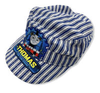THOMAS & FRIENDS THE TANK ENGINE-CONDUCTOR TRAIN ENGINEER STRIPED CAP HAT