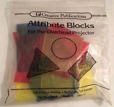 Attribute Block for Overhead Projector - Creative Publications Math MultiColor