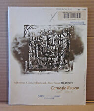 "CARNEGIE REVIEW journal 1964 literary ""The Deputy"" play discussion critique OG"