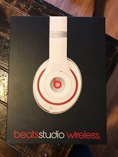 Beats Studio Wireless White Headphones