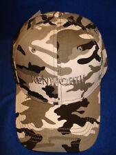 KENWORTH HAT:   WINTER CAMO KENWORTH TRUCKER'S CAP * FREE SHIP IN USA *