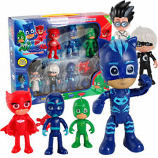 6 PCS Pj Masks Toys Catboy Owlette Gekko Figure Toys Best GIFT For Kids