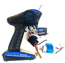 MT-305E Remote Radio Control RC Transmitter 3 Channel Receiver 2.4ghz Servo ESC