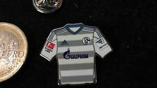 NEU: S04 Schalke 04 Trikot Pin Badge Away 2016/17 Gazprom