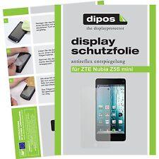 2x dipos ZTE Nubia Z5S Mini matte Displayschutzfolie Antireflex Testsieger