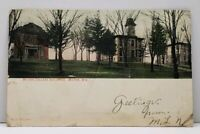 Milton Wisconsin MILTON COLLEGE BUILDINGS 1980 to Dell Rapids SD Postcard G13