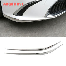 2019-2020 For Lexus ES350 300H Front Bumper Protector Corner Guard Trim Strips