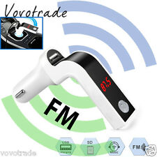 Car Music FM Transmitter Hands-free LCD MP3 Player Radio Adapter Kit Charger